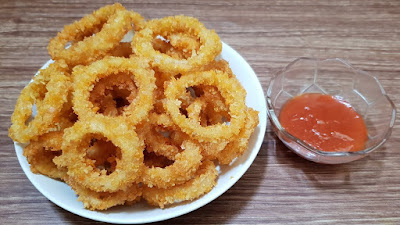 Resep Simple Onion Ring Crispy 1