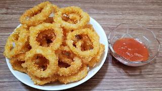 Cara membuat Onion crispy