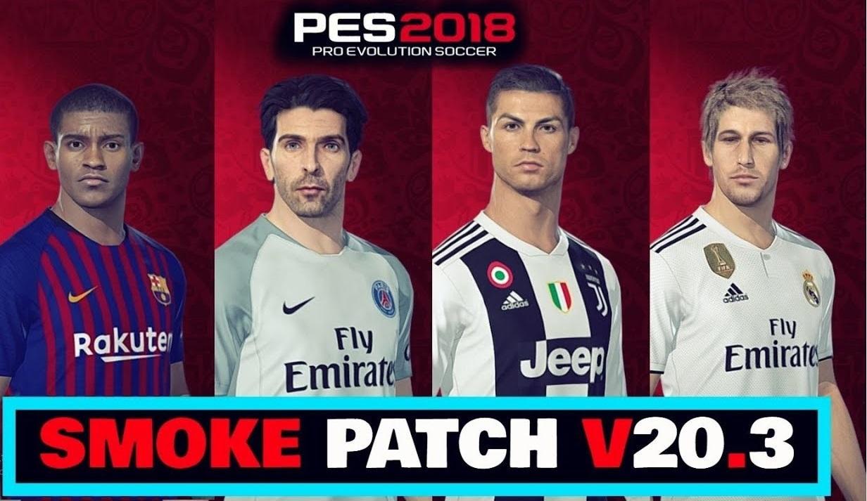 pes 2018 smoke patch pc free download