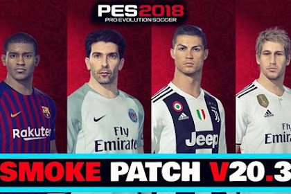 Free Download Patch Latest Version New Season for Games Pes 2018 on PC Laptop