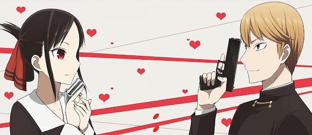 anime kaguya sama love is war