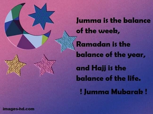Jumma is balance of the week