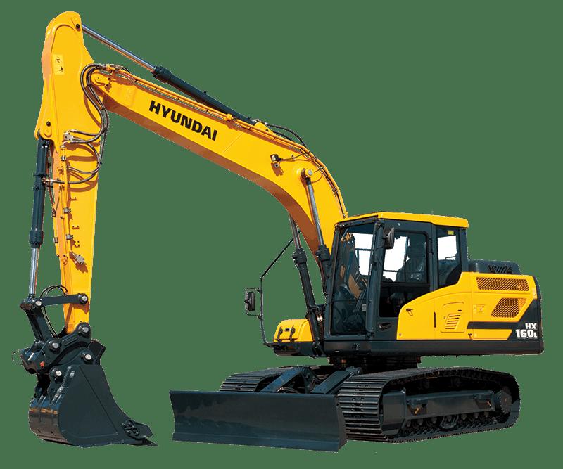 Hyundai Excavators HX160L