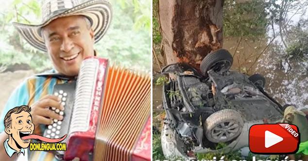 Murió El Santo Cachón en un terrible accidente de tránsito