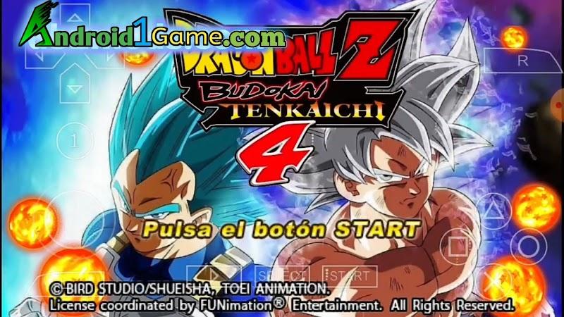 Dragon Ball Z Budokai Tenkaichi 4 ISO PSP