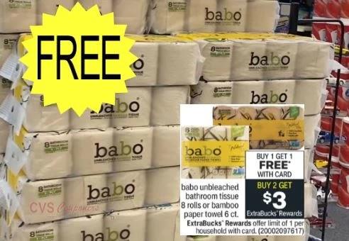 free plus money maker babo toilet paper cvs