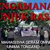 VIDEO : Kapolres Minahasa Denny Situmorang Pimpin Pengamanan Unras Mahasiswa di Kantor Bupati