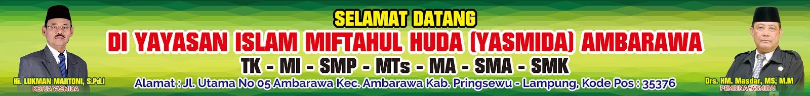 Desain Spanduk Selamat Datang di Yasmida Ambarawa - Abdur ...