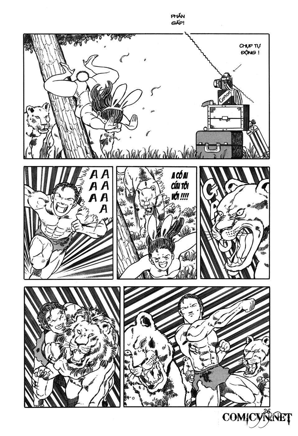 Chúa rừng Ta-chan chapter 3 trang 7