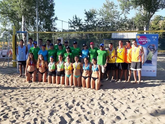 Πρέβεζα: Τελικοί Πανελληνίου Πρωταθλήματος Beach Volley Under -17