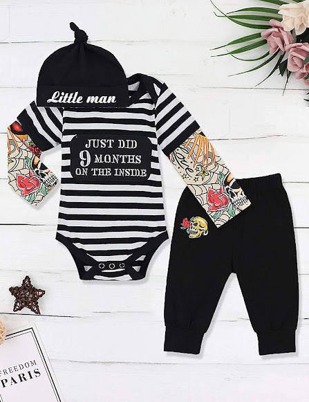 Funky and Cute Baby Boy Clothes