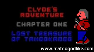 PS3 Clyde's Adventure Chapter 1 DOS Game Retail PKG Port