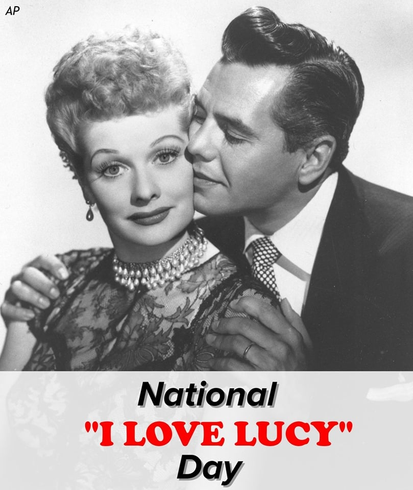 National I Love Lucy Day Wishes Images