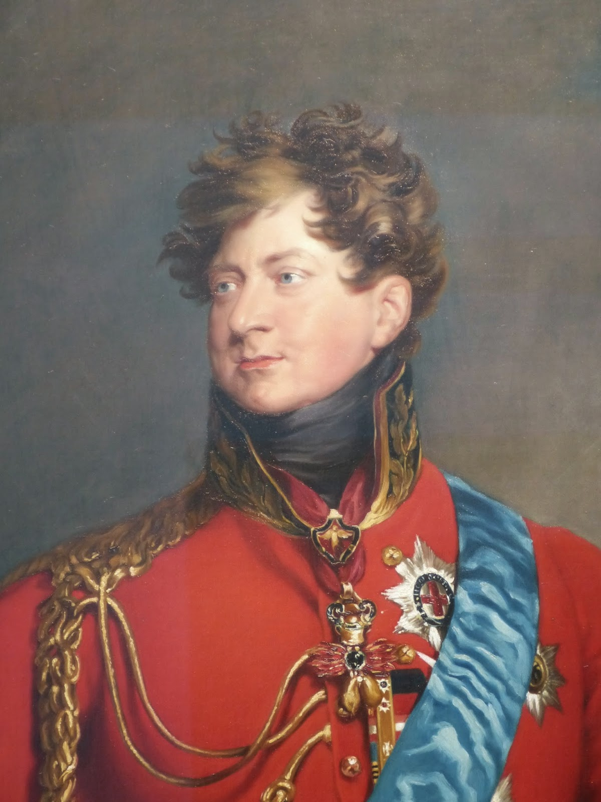 George IV when Prince Regent  after Sir Thomas Lawrence (1815) NPG