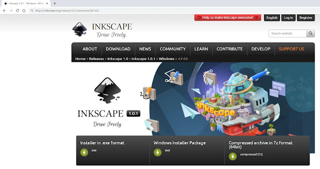 Lengkap Sekali : Pengenalan Dasar Inkscape