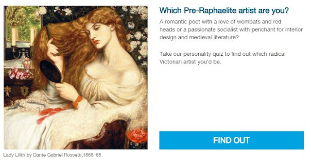 Which Preraphaelite Painter are you?