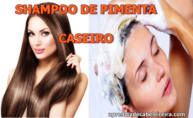 SHAMPOO DE PIMENTA CASEIRO