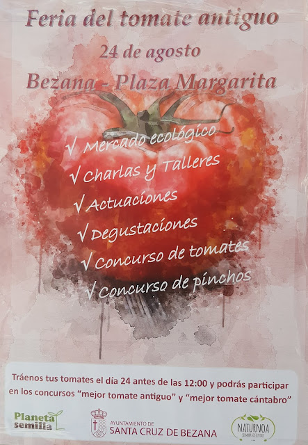 Feria del tomate antiguo en Santa Cruz de Bezana