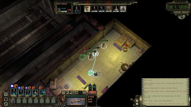Screenshot of Wasteland 2