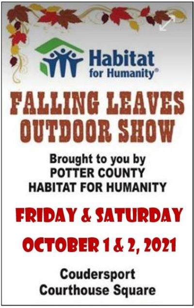 10-1 & 2 Falling Leaves Outdoor Show in Coudersport