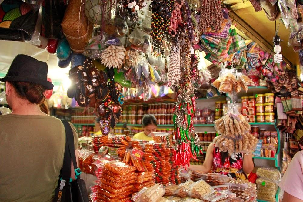 Souvenirs in Bicol