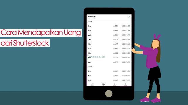 Cara Menghasilkan Uang dari Shutterstock