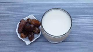 العصير الأول: عصير الحليب والثمر
