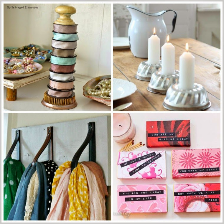Repurposed Treasures from the Vintage Inspiration Party