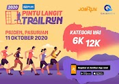 Pintu Langit Trail Run • 2020