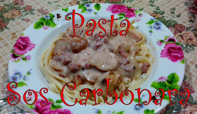 Resepi Istimewa Suami - Pasta Sos Carbonara