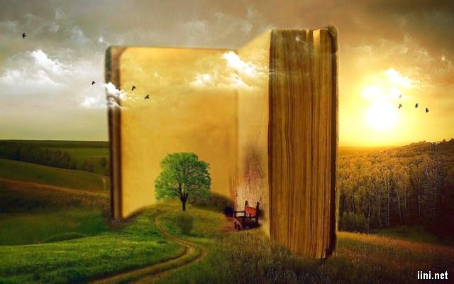 ảnh nghệ thuật về sách