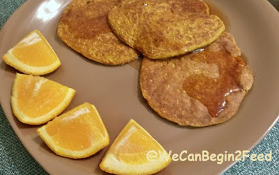 Spicy Pumpkin Protein Pancakes
