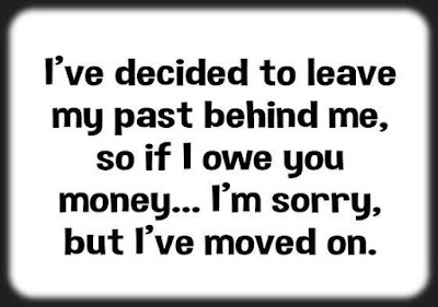 I've decided to leave my past behind