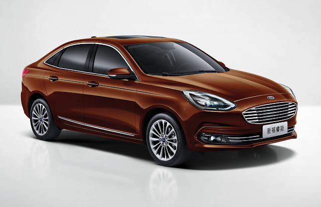 The Ford Escort continues to exist: it is a successful affordable sedan, but only for China