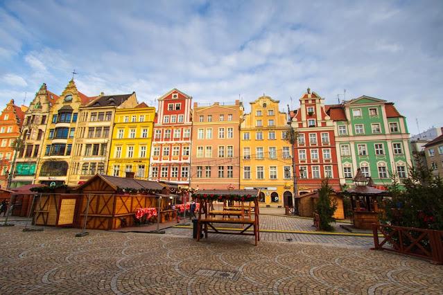 Piazza del mercato (Rynek)-Breslavia
