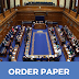 Revised Order Paper Monday 27 January 2020