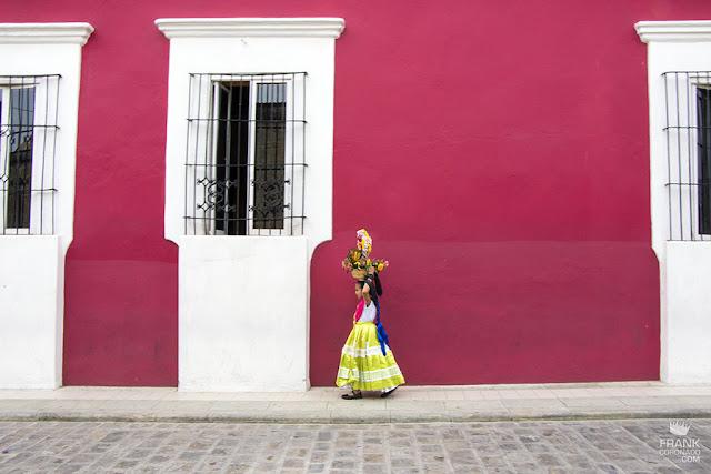 calles coloridas de oaxaca