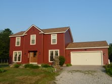 Northdixie Designs More On Certainteed Barn Red Siding