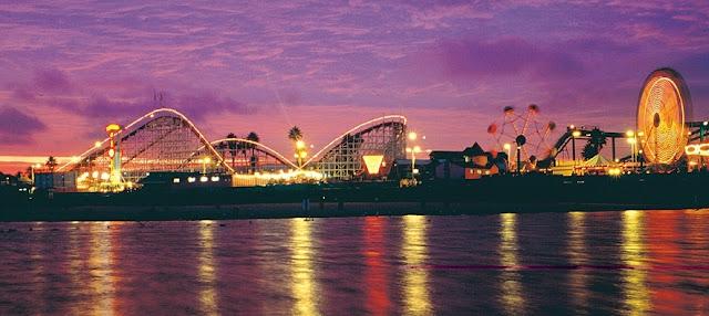 Baladas em Santa Cruz na Califórnia