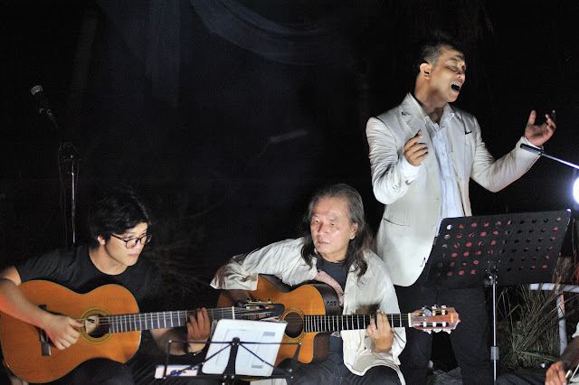 Đêm nhạc Trần Quảng Nam tại Làng Trường Thọ