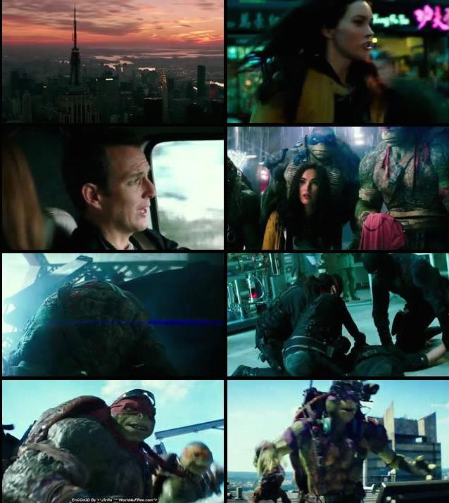 Teenage Mutant Ninja Turtles 2014 Dual Audio Hindi BRRip 480p