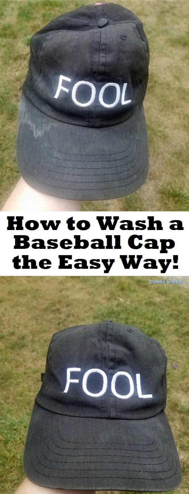 how do you wash a baseball cap