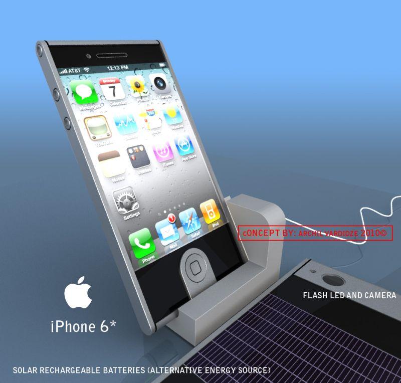 Desain IPhone 6, IPhone Mini, Dan IPhablet Terbaru 2013