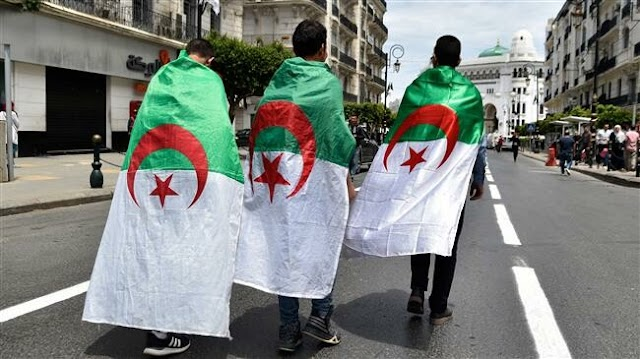 Algeria's Lieutenant-General Ahmed Gaed Salah  hails elections as best way out of crisis