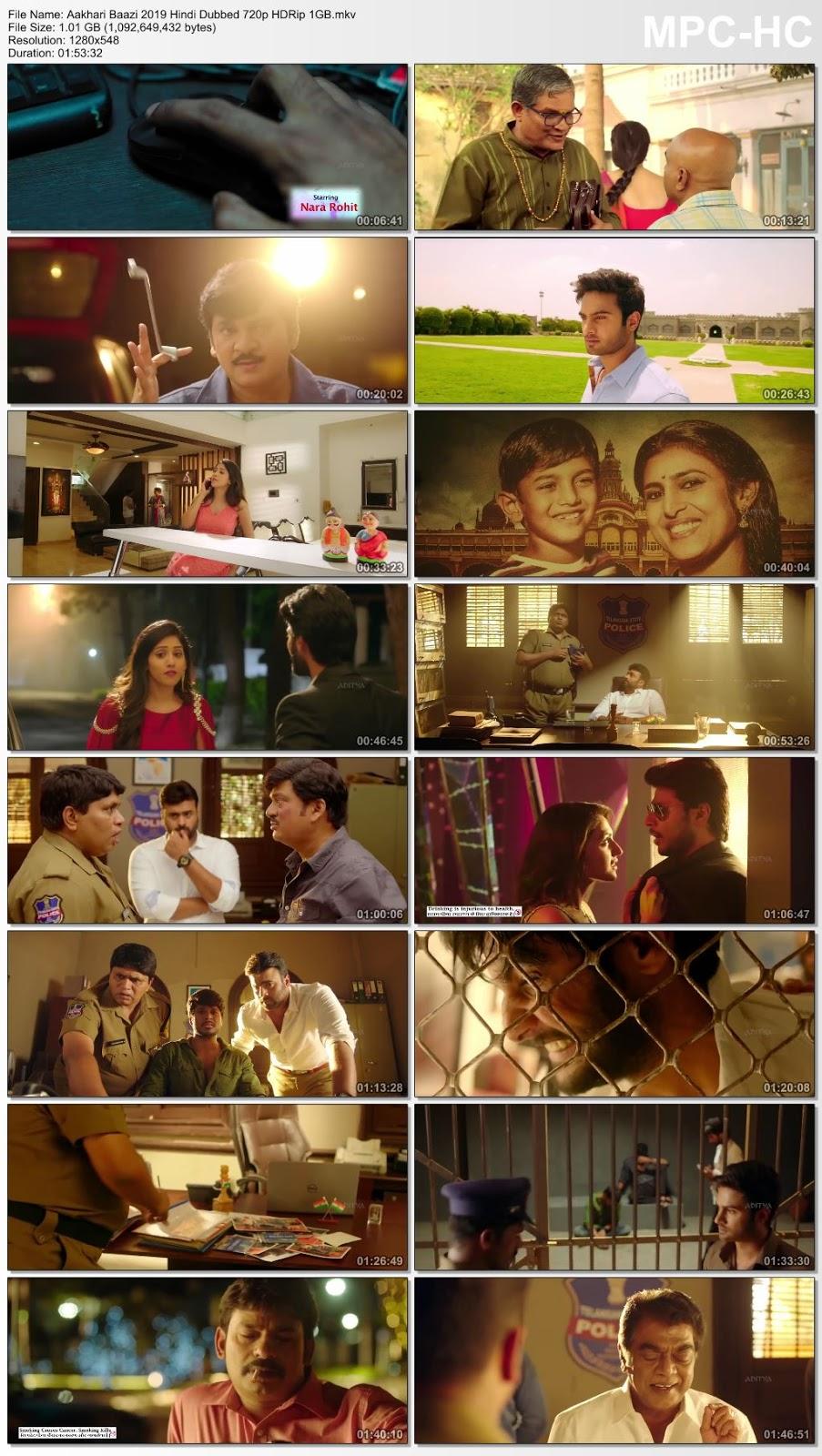 Aakhari Baazi (2019) Hindi Dubbed 720p HDRip 1GB Desirehub
