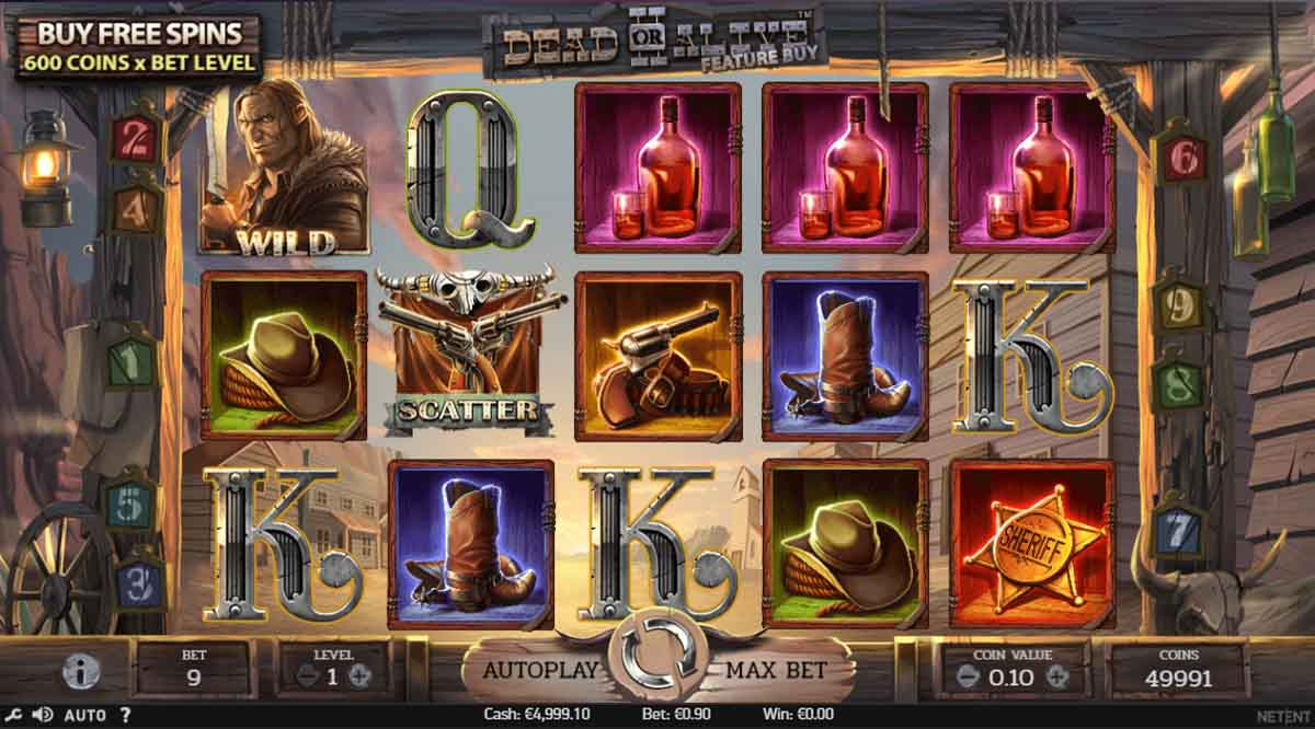 Dead or Live 2 Feature Buy - Demo Slot Online NetEnt Indonesia