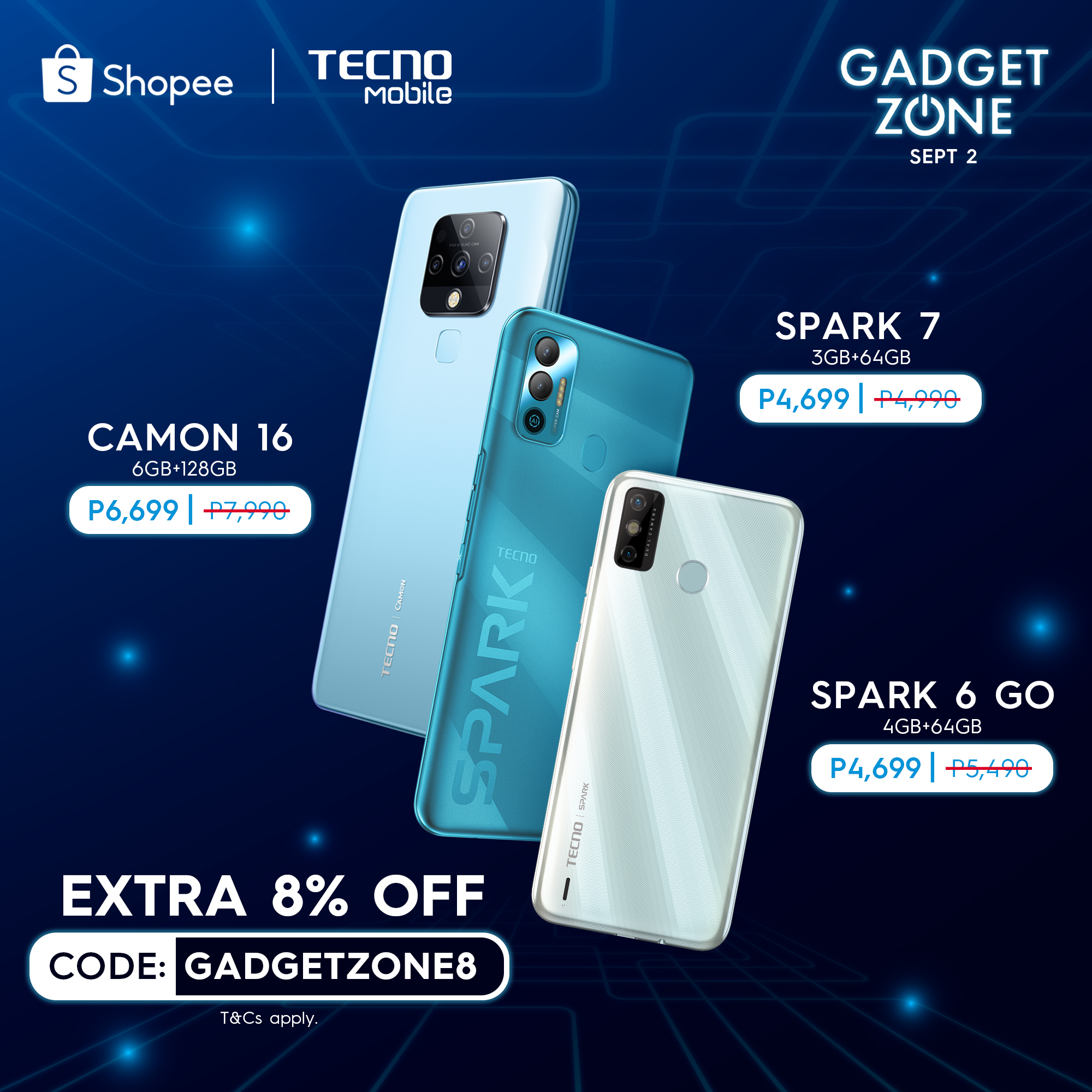 TECNO Mobile Shopee Gadgetzone