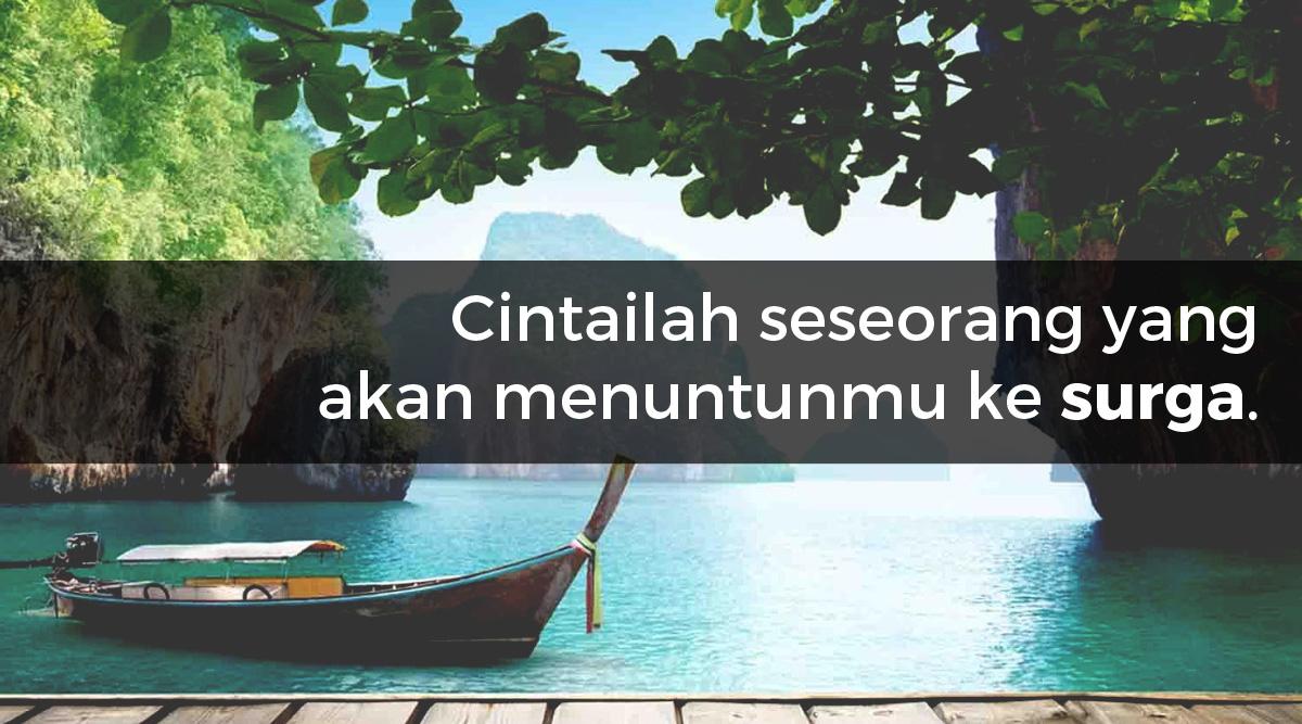 Kata Kata Cinta Romantis Islami 61