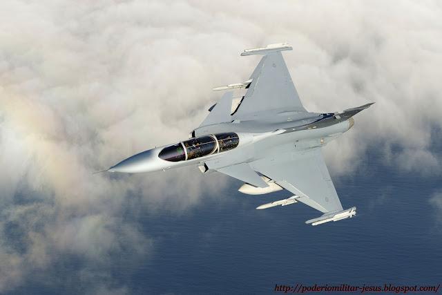 Saab 39 Grippen ( caza polivalente ligero, monomotor Suecia  ) - Página 6 Caza%2BGripen