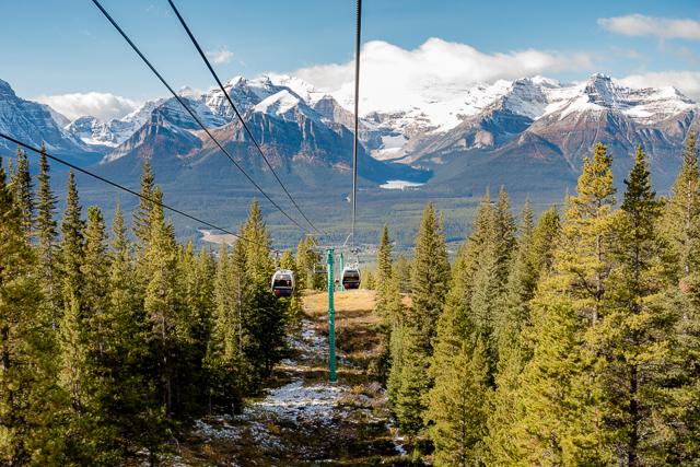 Lake Louise Gondola - Alberta, Canada